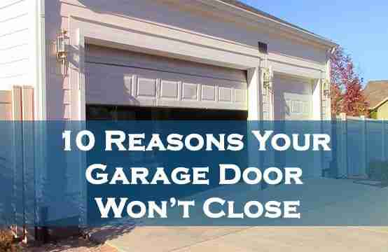 garage door issues