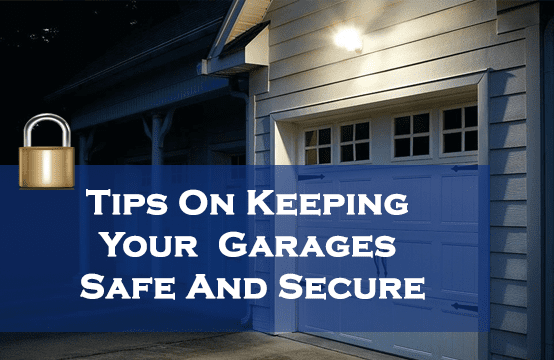 secure your garage door