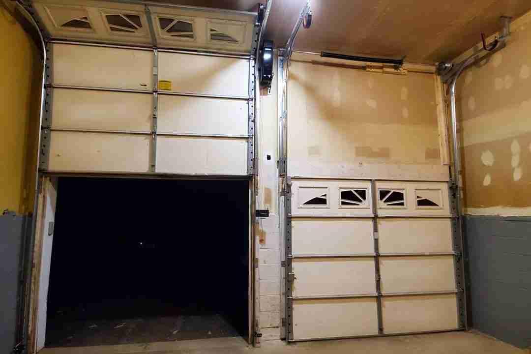 high lift garage door